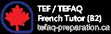 French tutor (B2) Tefaq